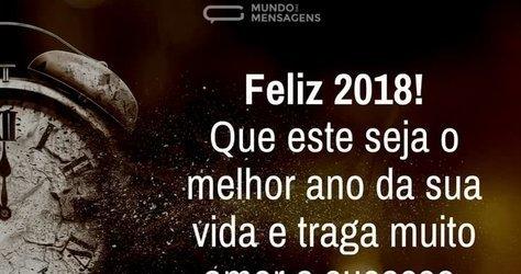 feliz ano novo pra todos que vem